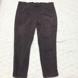 High Waisted Black Stretchy Jeans